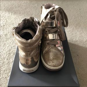 Vince Camuto Gold Sneakers